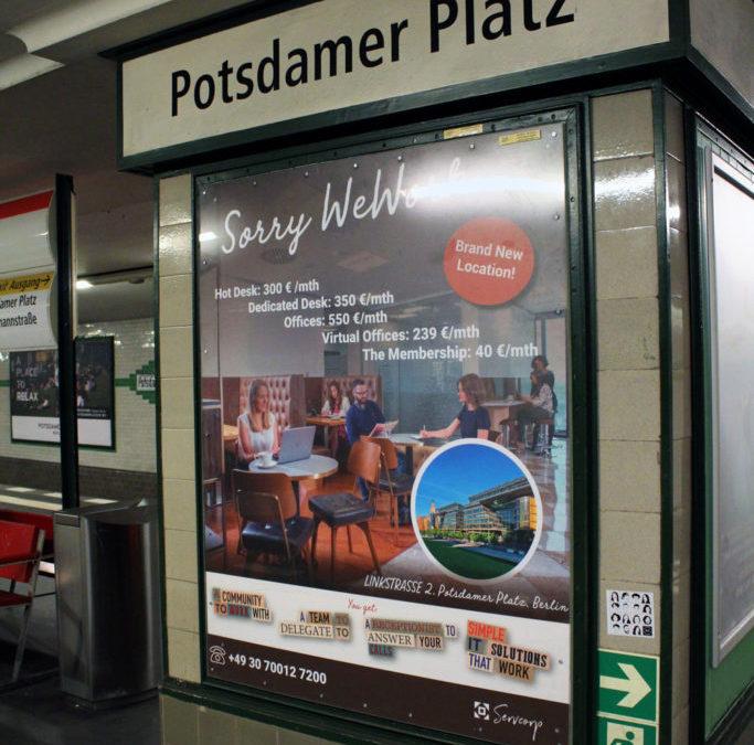 Plakate Potsdamer Platz